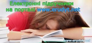 Електронні підручники на Ерудит.нет