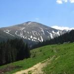 Hoverla —the highest mountain of Ukraine