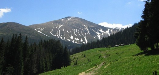 Hoverla —the highest mountain of Ukraine