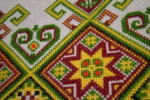 Symbols in Ukrainian Embroidery