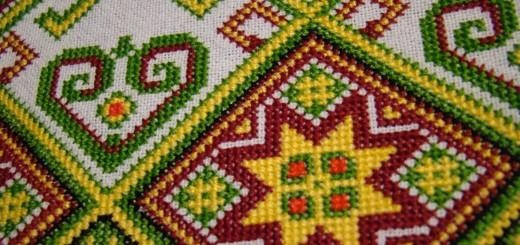 Symbols in Ukrainian Embroidery