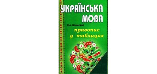 Правопис у таблицях з української мови