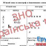 ЗНО українська мова. Таблиці, схеми, діаграми