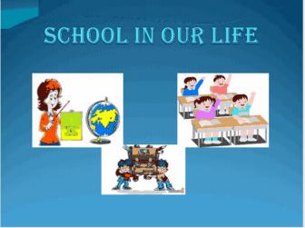 Конспект уроку у 8 класі «School in our life»