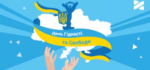 """Сценарій до Дня Гідності і Свободи """"Україна гідна свободи"""""""