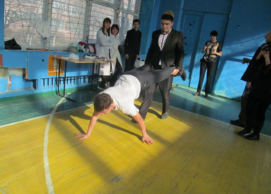 Військово-спортивної естафети на честь «Дня Збройних сил України»