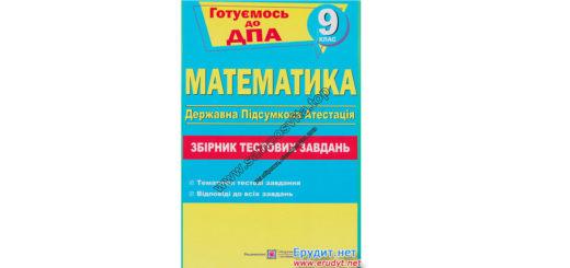 Збірник тестових завдань з математики, Капіносов