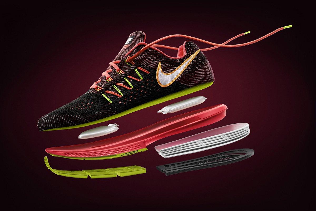 Инновационные технологии кроссовок Nike