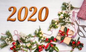 Привітання з Новим 2020 роком