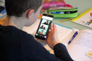 Мобільний телефон і дистанційне навчання