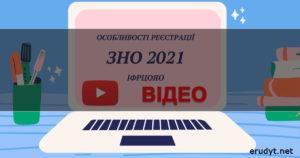 Реєстрація на ЗНО 2021